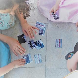 épreuve puzzle indices chasse énigmes tresor enfants 4 5 3 ans exterieur