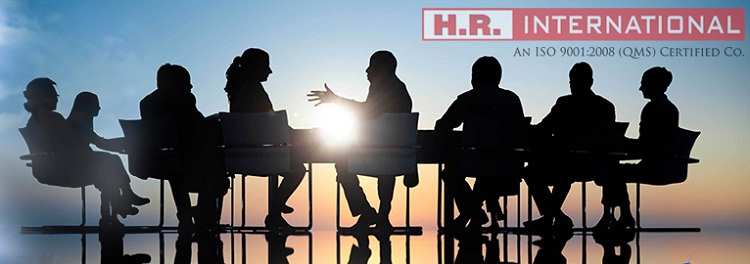 H.R. International is managing the Human resource services worldwide