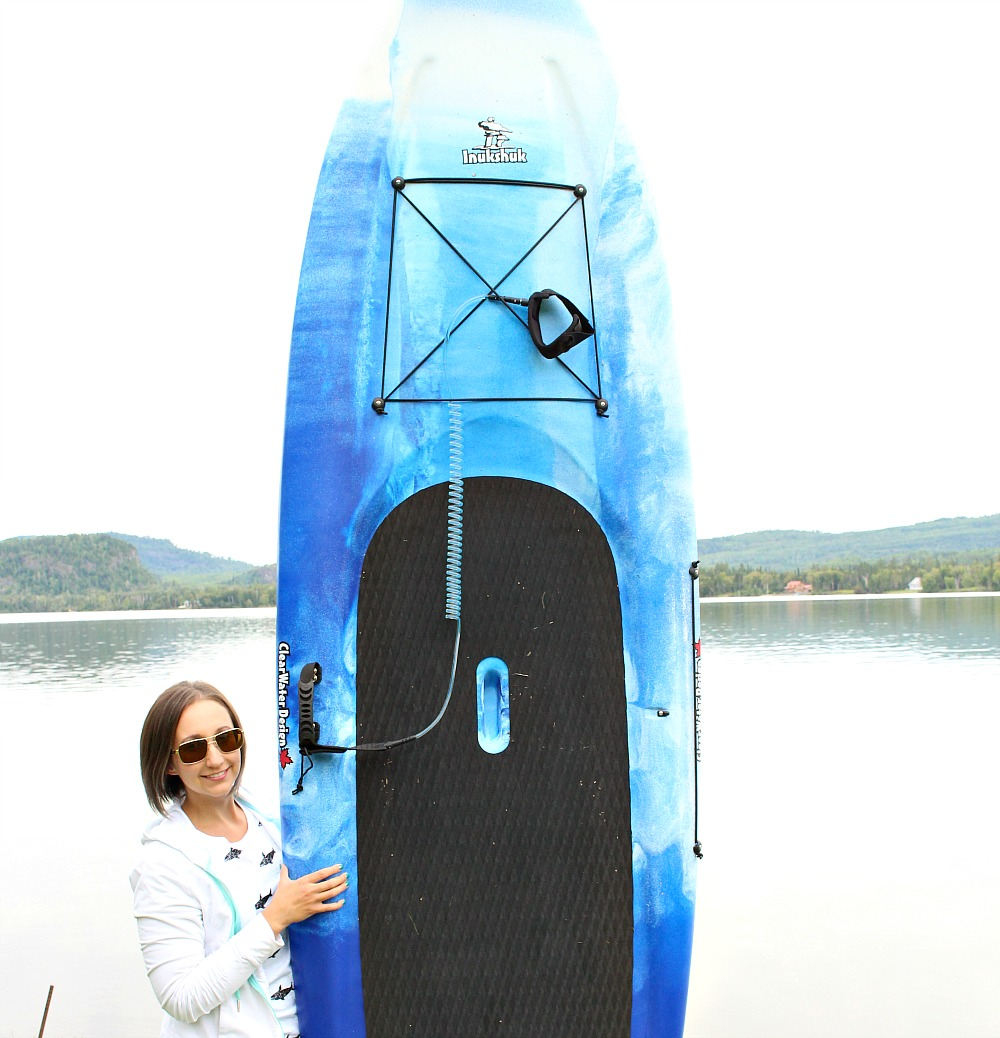 Blue Stand Up Paddle Board
