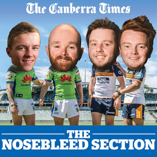 Canberra Times Nosebleed Section