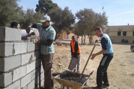 حملة لتأهيل مستوصف صحي ضواحي مراكش