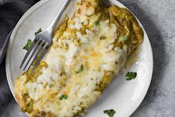 Vegetarian Enchiladas Verdes #vegan #recipevegetarian