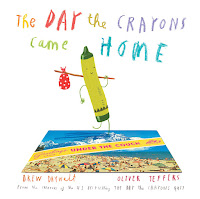 Day the crayons came home by Drew Daywalt picture book cover