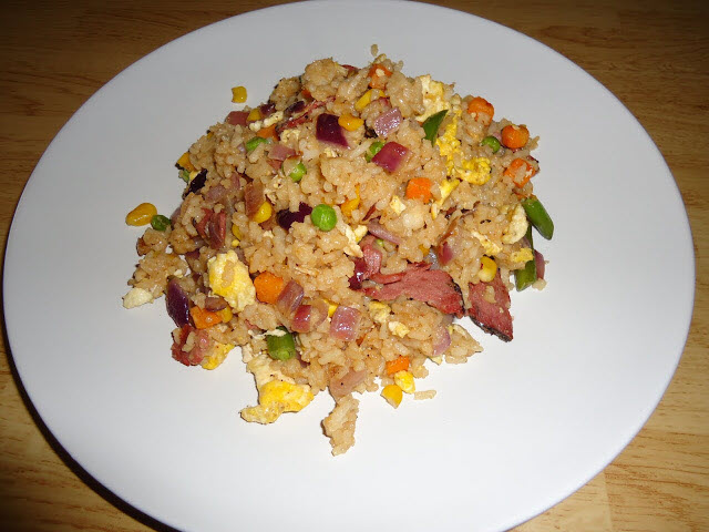 Beef Pastrami Fried Rice