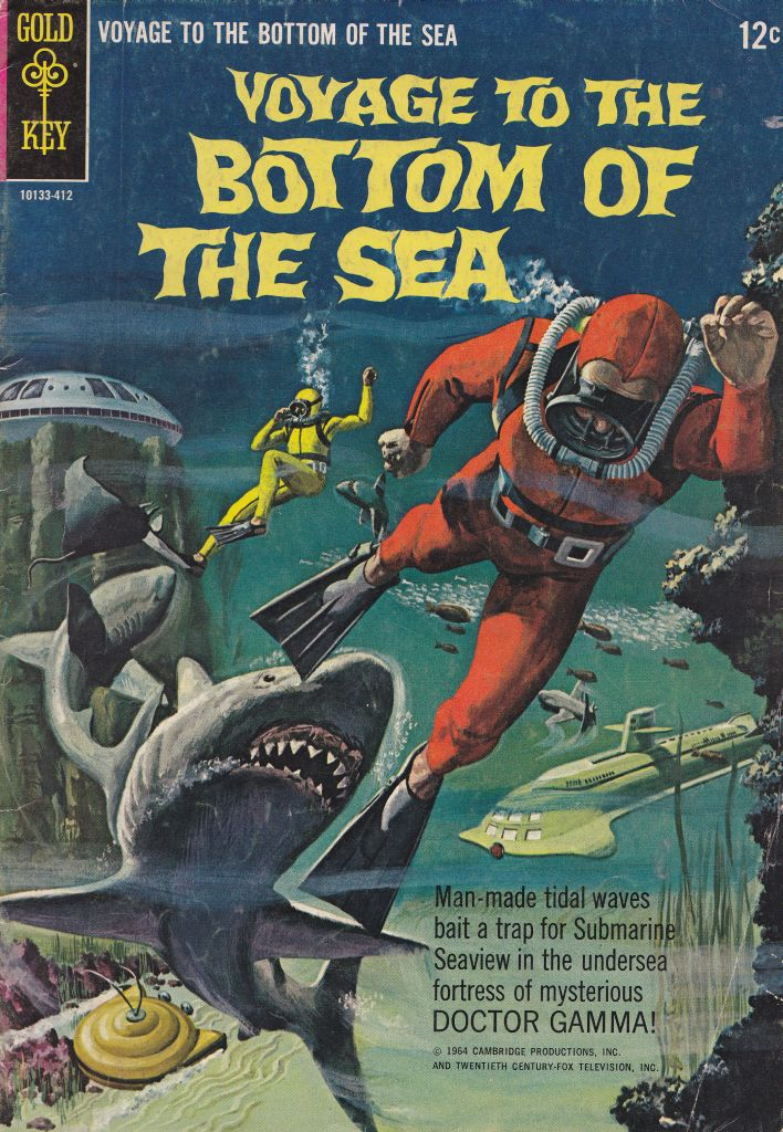 GOLD KEY COMICS VOYAGE TO THE BOTTOM OF THE SEA #1!