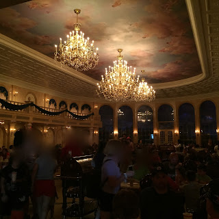 Ballroom at Be Our Guest Restaurant