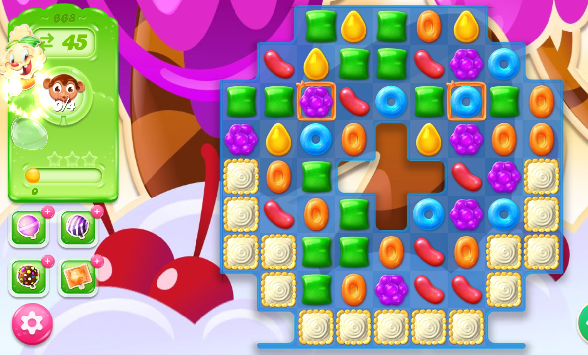 Candy Crush Jelly Saga level 668