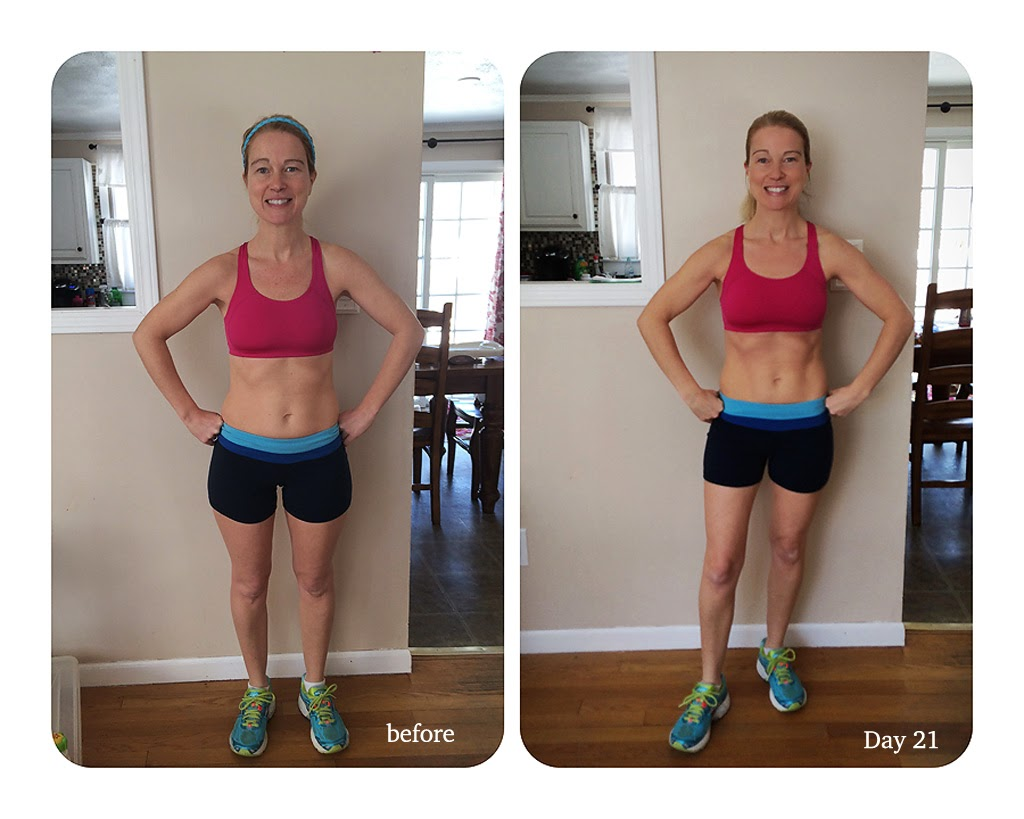 It's not a huge transformation or anything but great progress in only 21  days.