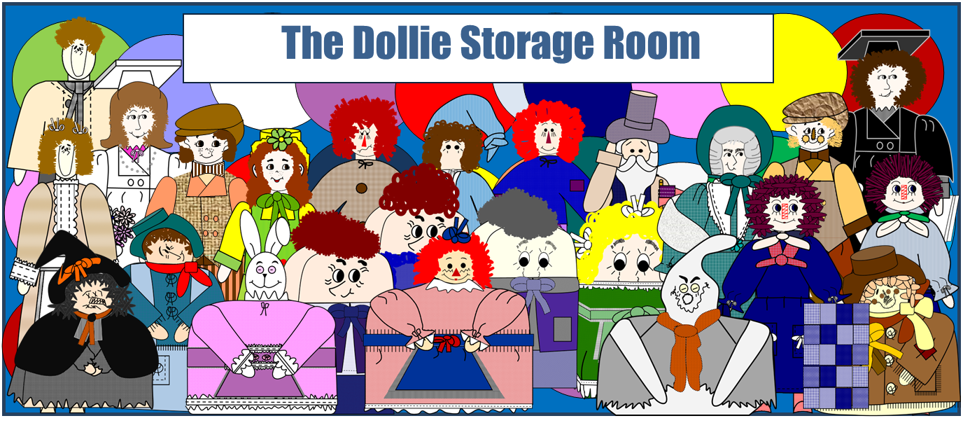 "Thanks For Visiting ""The Dollie Storage Room"" Blog.  The ""Dollies"" Are So Happy You Came!"