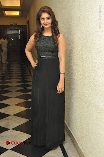Actress Surabhi Stills in Black Long Dress at turodu Audio Launch  0117.JPG