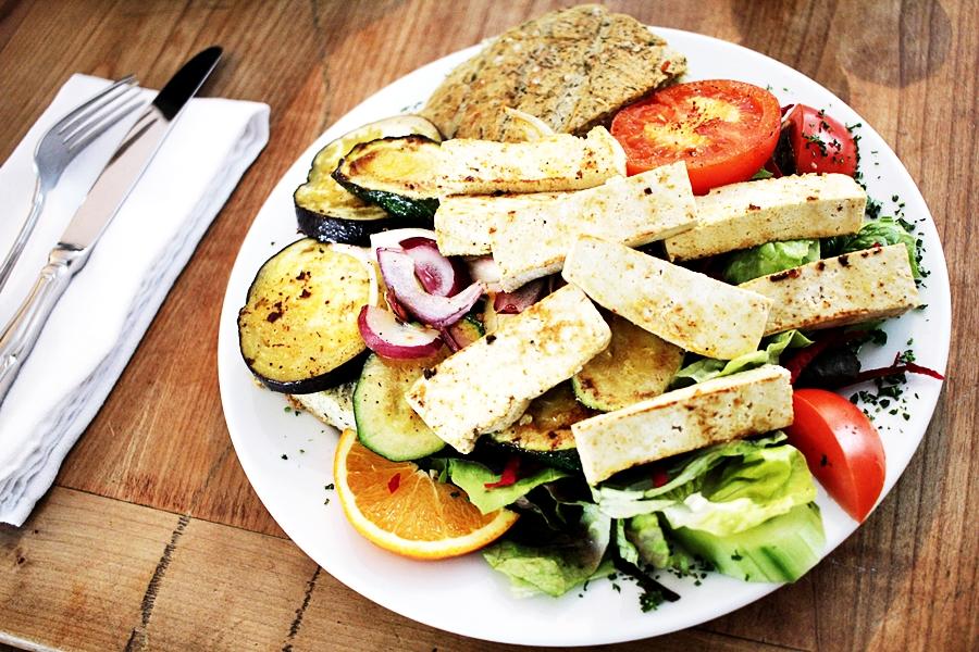 mittagessen gesund vegan