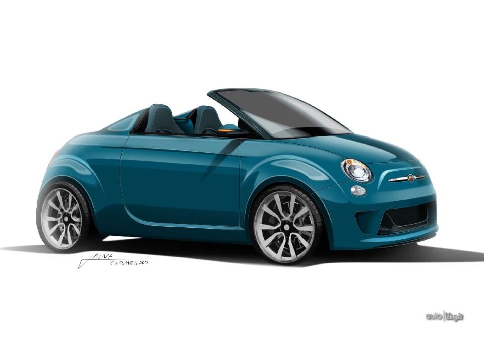 new 2013 fiat 500 bellavista concept study garage car. Black Bedroom Furniture Sets. Home Design Ideas