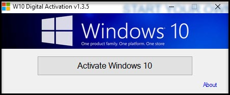 W10 Digital Activation v1.3.5 Portable