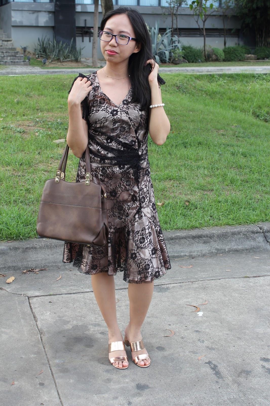 outdoor shots wearing dress