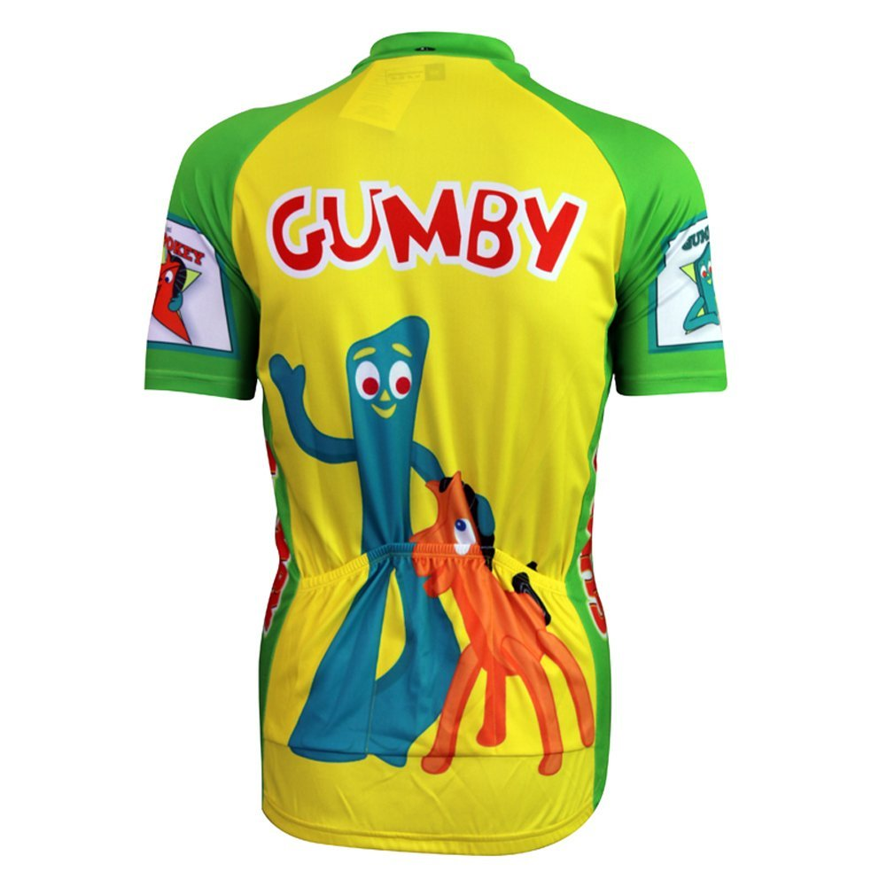 5fb8a0da7 Funny Cool Men s Cycling Jersey  Gumby   Pokey