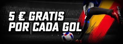 BetStars gana 5 euros por cada gol marcado Eurocopa 2016