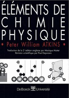 Livre de l'Eléments de chimie physique pdf