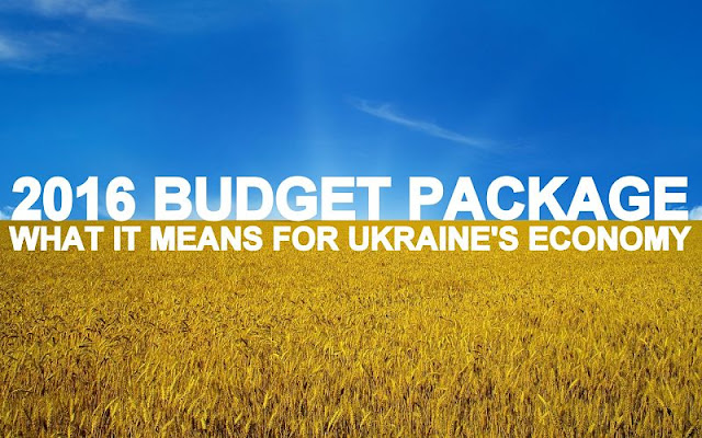 B&E | 2016 Budget Package: What It Means for Ukraine's Economy