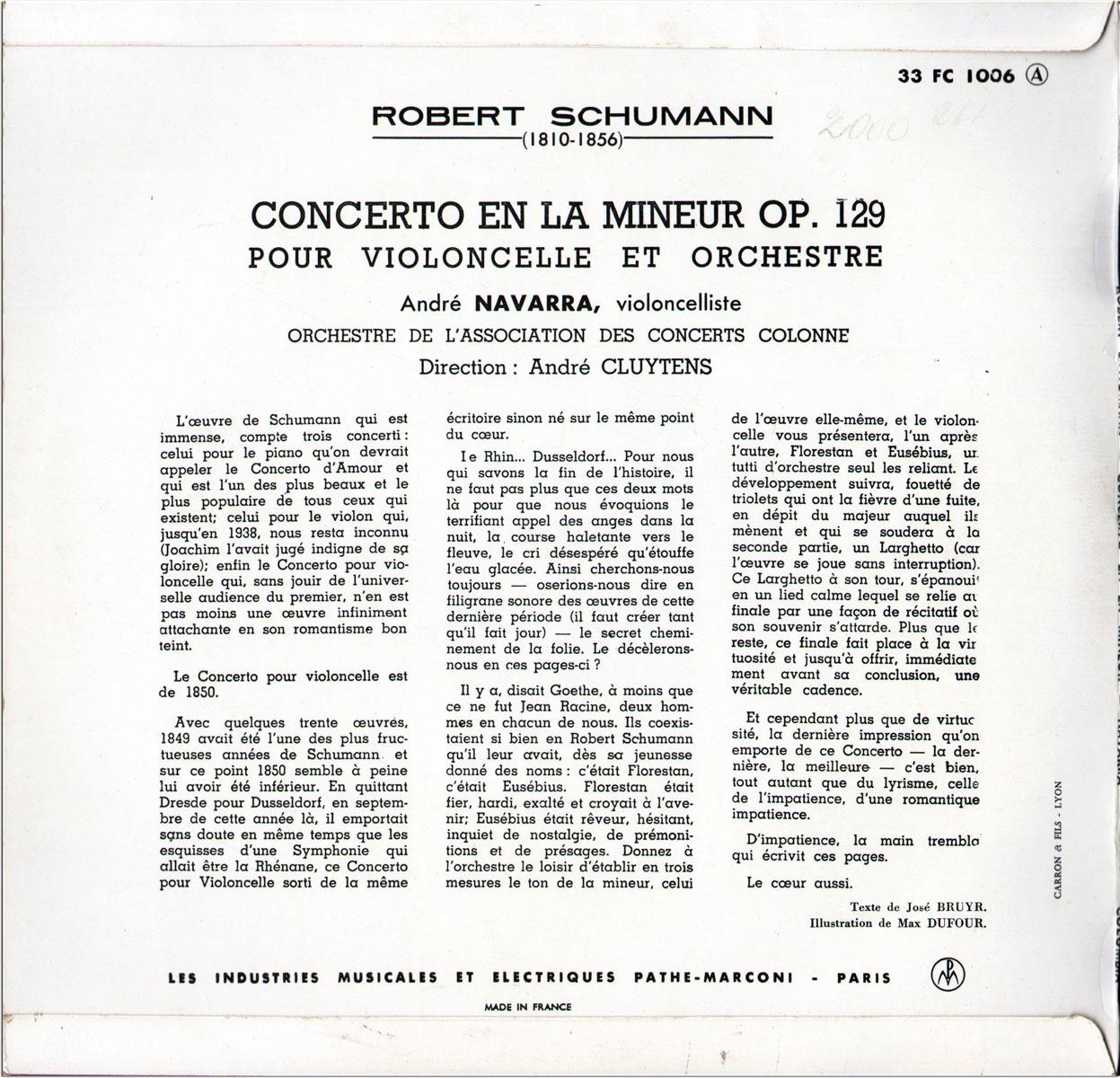 Searching Rare Recordings No1 Schumann Concerto For Cello