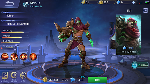 Tutorial Menghindari Ulti Aldous Mobile Legends 1