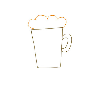 アイコン 「ビール」 (作: 塚原 美樹)