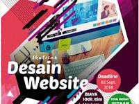Lomba Web Design Nasional 2018 di Unja