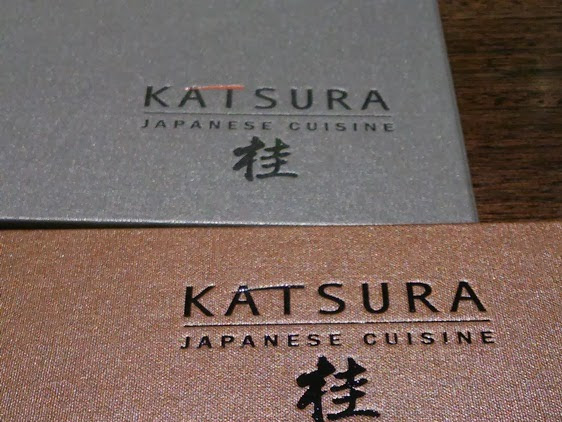 New Zealand : Dinner at Katsura