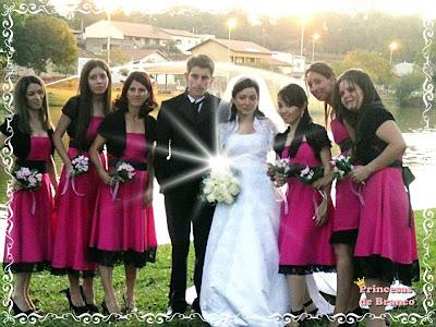 Convite para Bridesmaids damas de honra