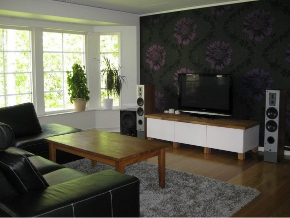 Most of them are loaded with audio video entertainment units and they give us an interesting perspective on living room entertainment setups of the swedes