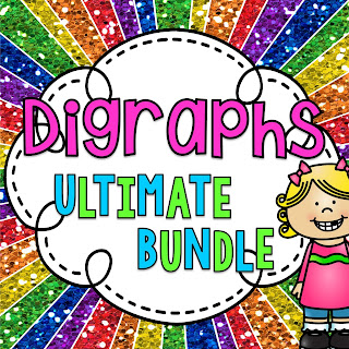 Digraphs bundle of so many digraphs activities worksheets and centers to practice digraphs!