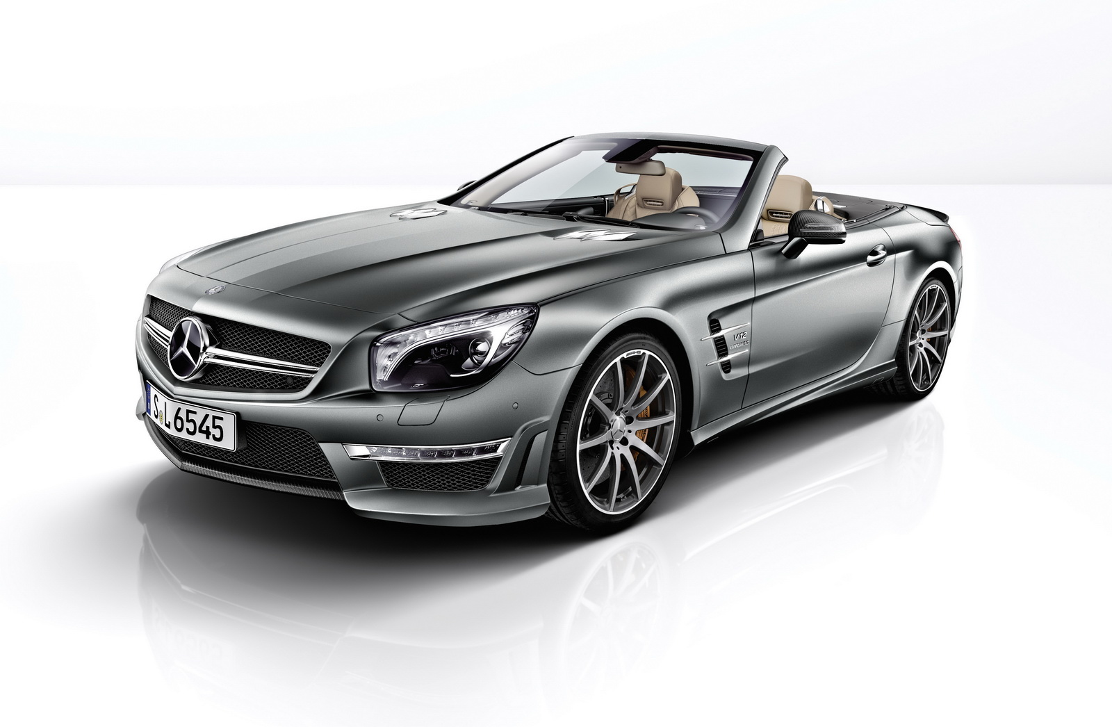 the new mercedes benz sl 65 amg 45th anniversary 45. Black Bedroom Furniture Sets. Home Design Ideas