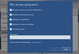 Cara Downgrade Windows 10 ke Windows 7 atau 8