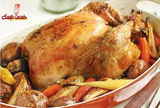 الدجاج المتبل للرجيم