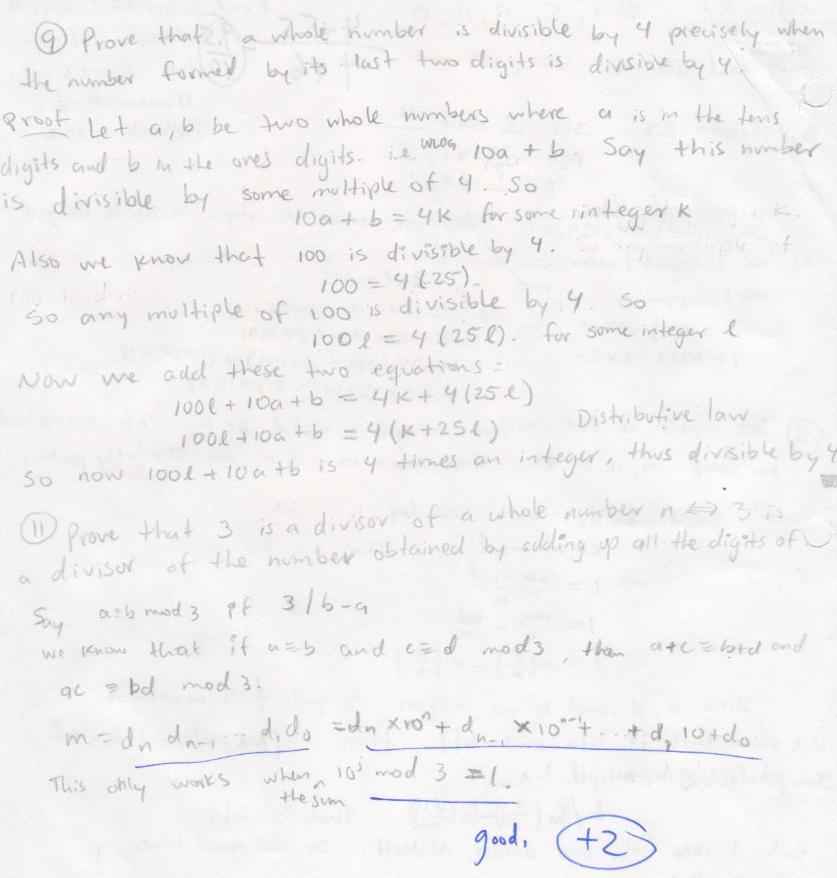 My old math homework from UC Berkeley : Math 151 hw6