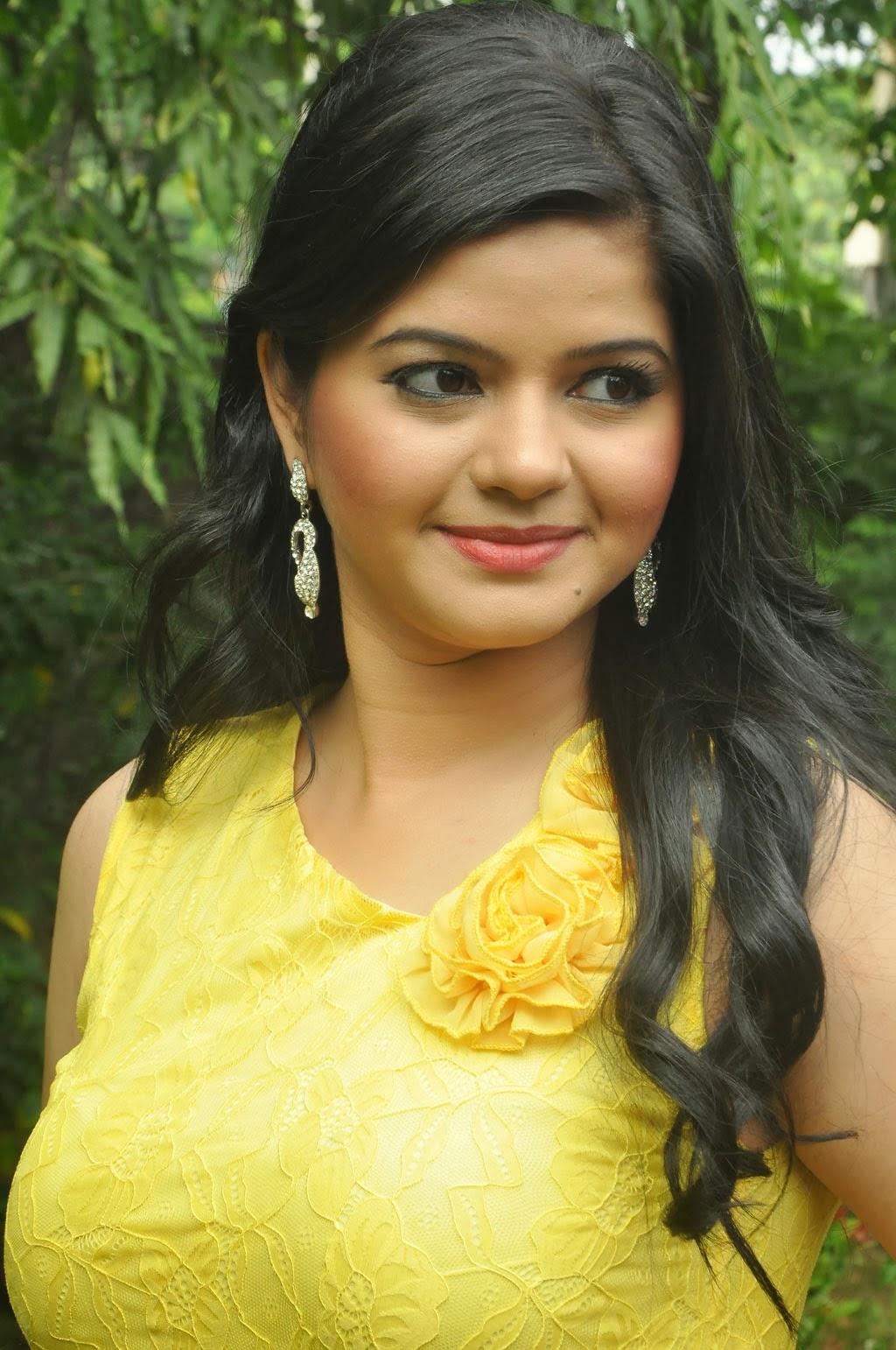 Preethi das hot photos in short dress at press meet event