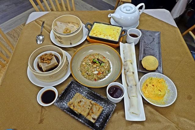 知道了茶樓蔬食素點~台北捷運小巨蛋、南京復興站素食