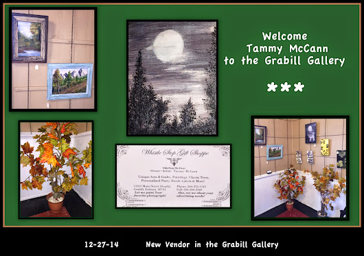 12-27-14 Welcoming Tammy McCann to the Grabill Gallery