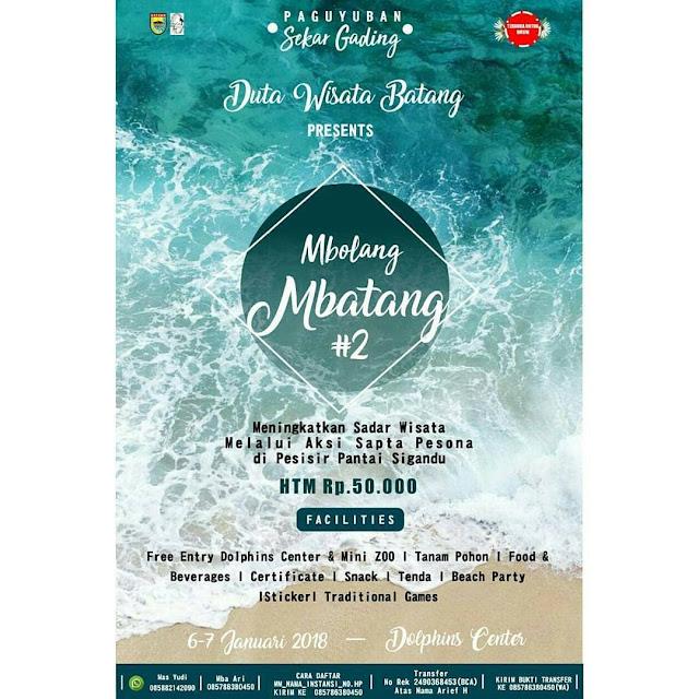 Event Batang | 6-7 /01/18 | Mbolang Mbatang #2