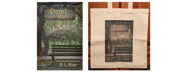 November Giveaway - Dead in a Park Paperback & Tote Bag