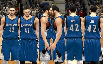 NBA 2K13 Minnesota Timberwolves Away Jersey Patch