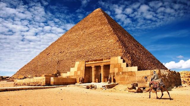 Diferenças entre as pirâmides do Egito e do México