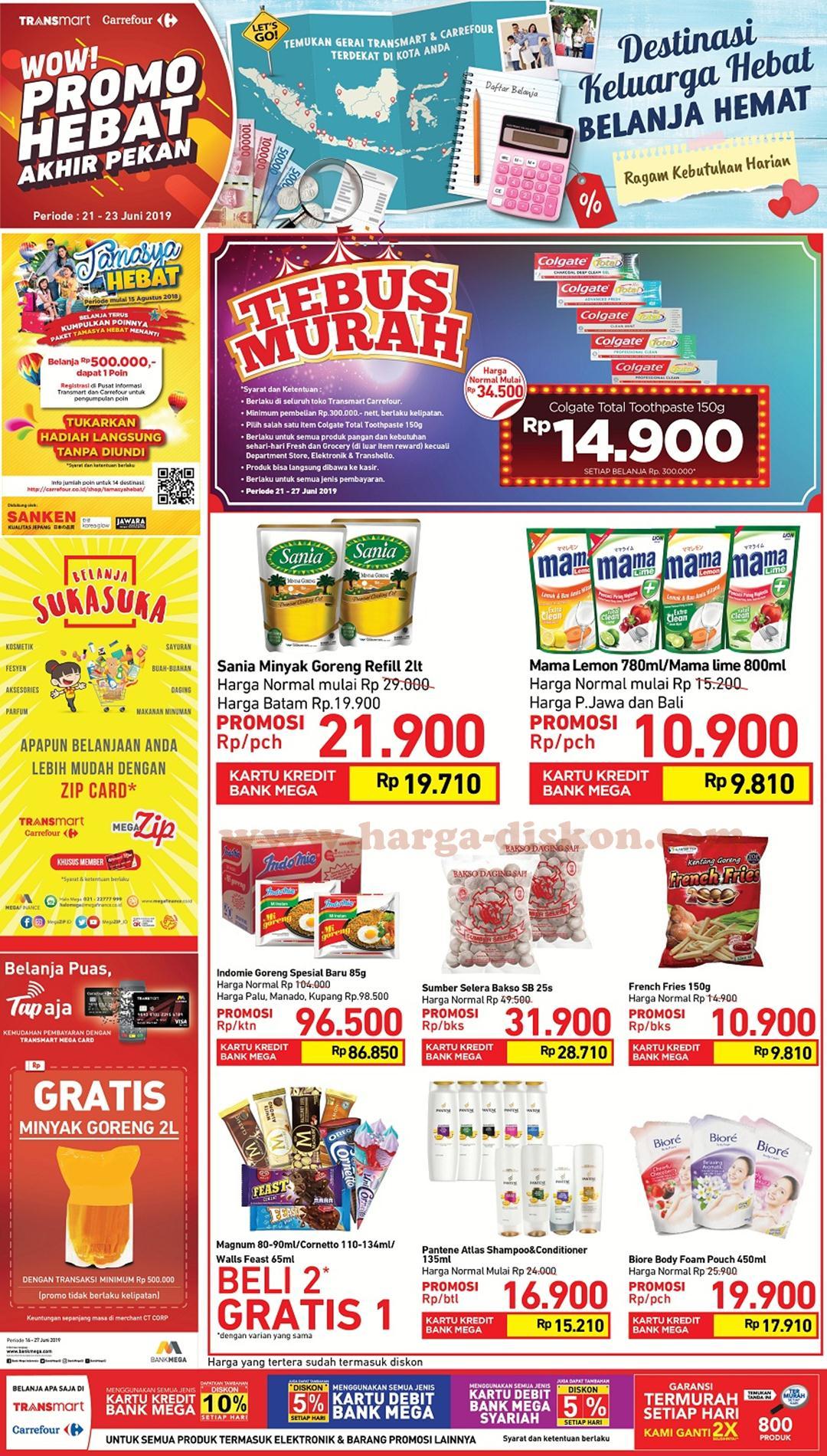 Katalog Promo JSM Carrefour Terbaru Minggu Ini Periode 21 – 23 Juni 2019