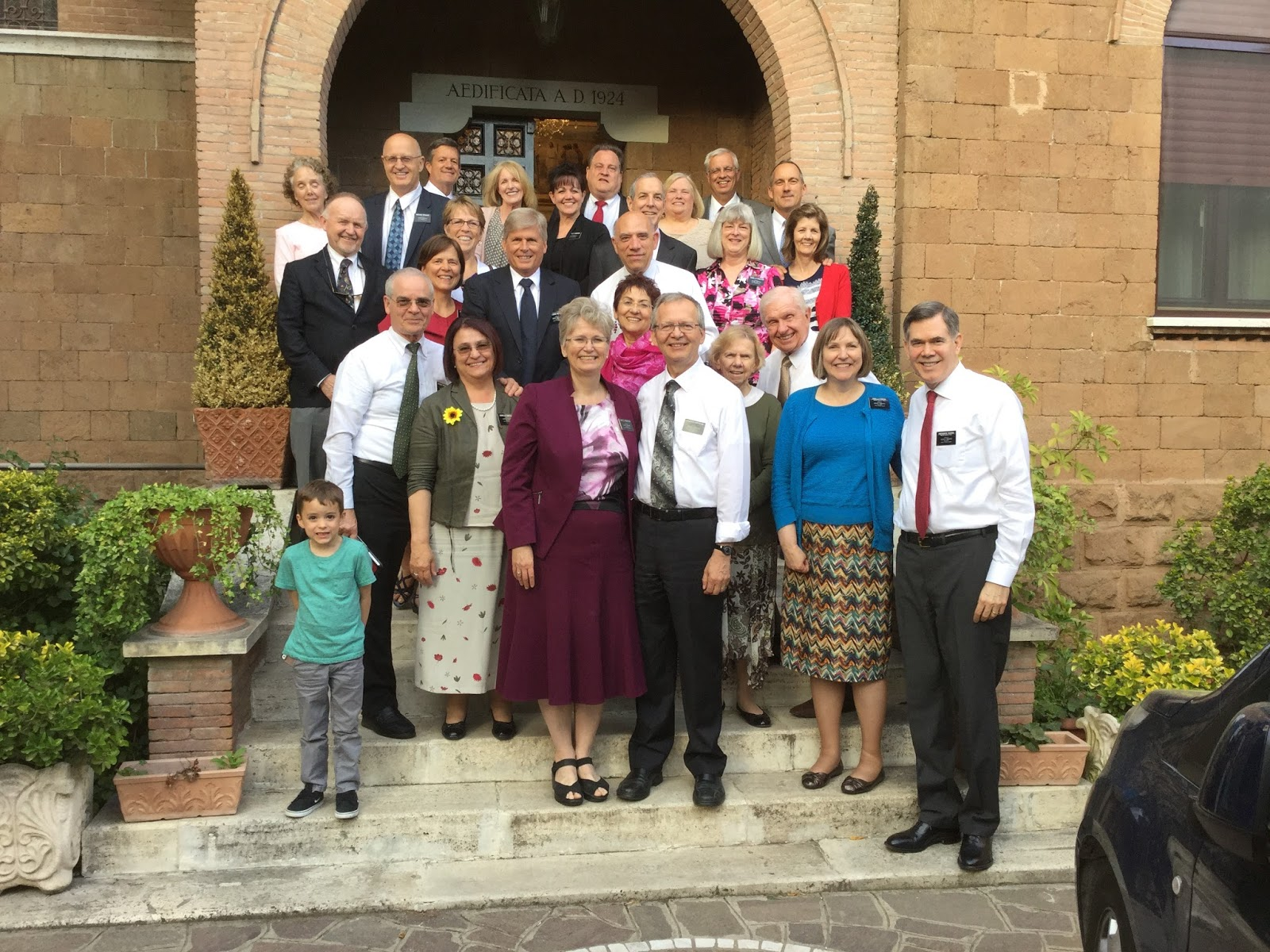 Pickerds Italy Rome Mission Farewell