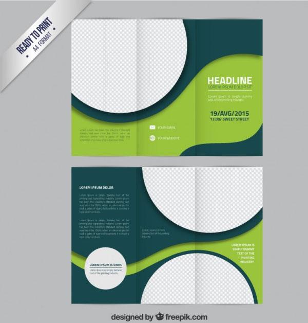 30 Template Desain Brosur Free Download (Format Photoshop Illustrator dan Microsoft Word