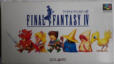 Final Fantasy IV (Jap) - Caja delante