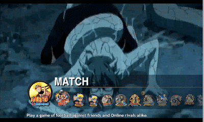 PES 2013 MENU GRAPHIC NARUTO