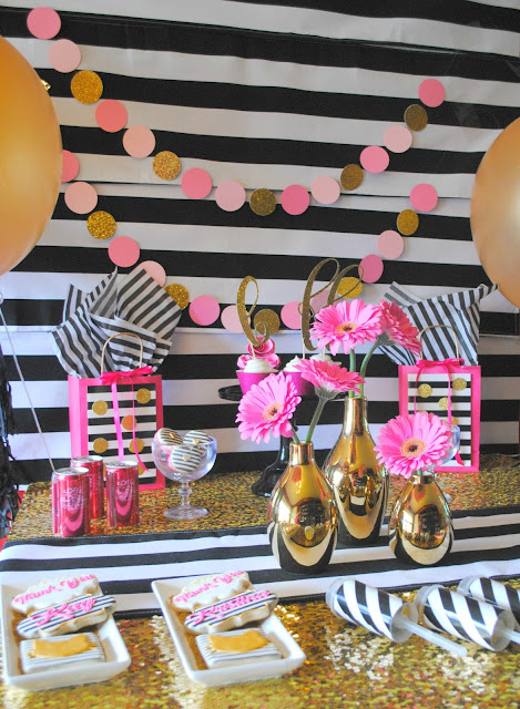 Kate Spade inspired Best Friends party by Fizzy Party