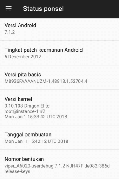 Update Sistem Android