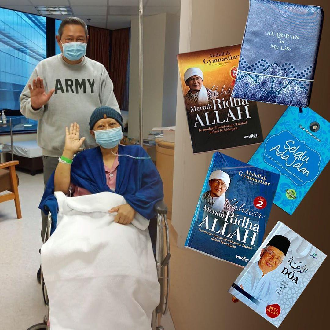 Aa Gym Beri 5 Judul Buku Buat Ani SBY, Begini Respons Sulung Aa