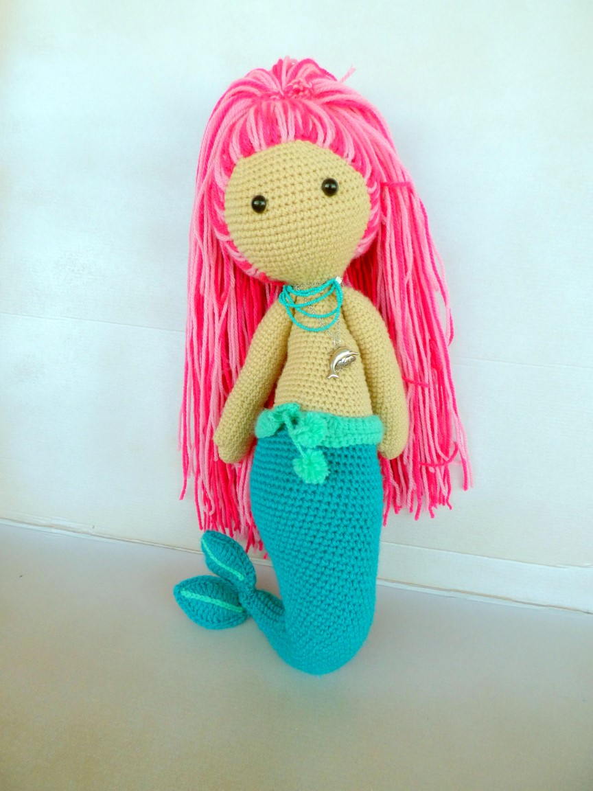 Crochet Amigurumi Mermaid Look What I Made Amvabe Crochet
